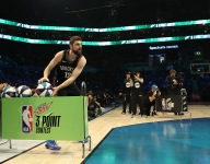 NBA changes three-point contest, adding two deep threes