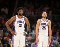 The Sixers are the worst away team (relative to their home record) since 1955