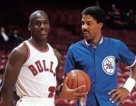 How much did Michael Jordan outscore fellow NBA legends in their matchups?