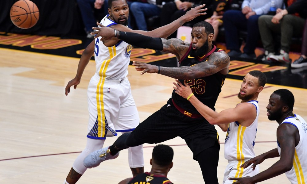 LeBron James vs. Kevin Durant and Stephen Curry