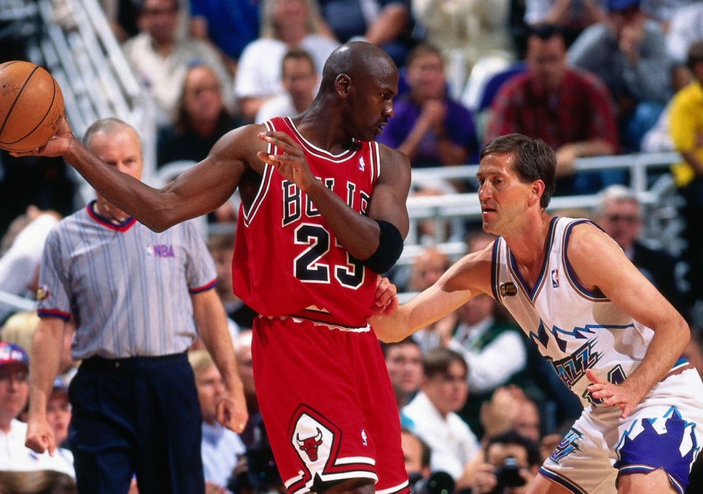 Michael Jordan vs Jeff Hornacek