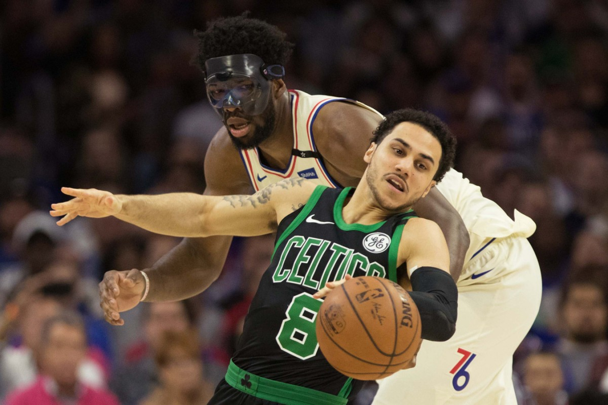 Celtics Shane Larkin vs. Sixers Joel Embiid