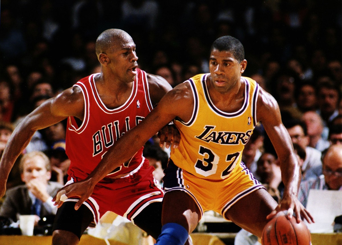 Magic Johnson vs. Michael Jordan
