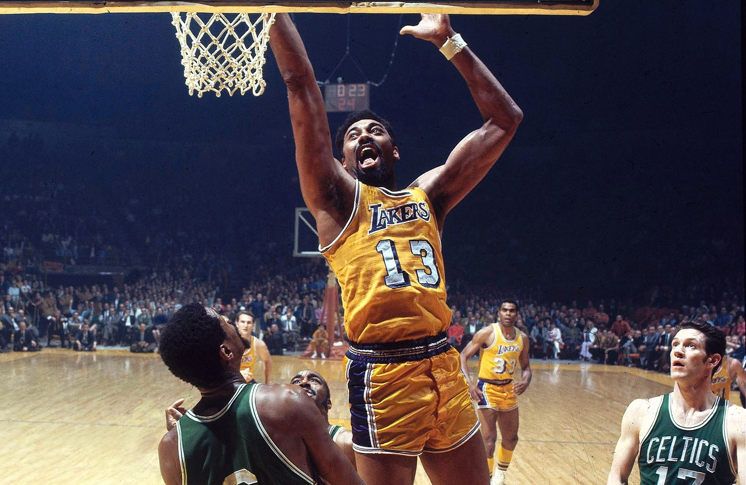 Wilt Chamberlain vs. Boston Celtics