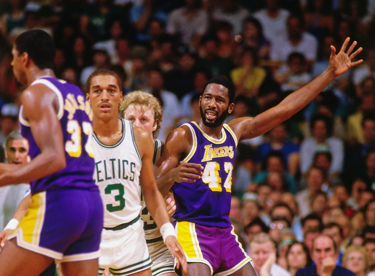 James Worthy vs. Boston Celtics