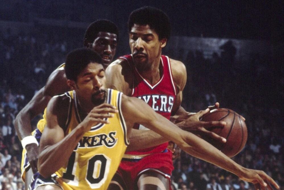 Julius Erving vs. Los Angeles Lakers