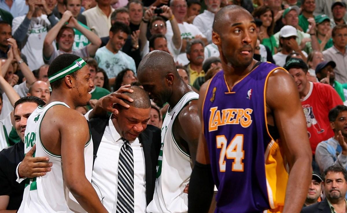 Kobe Bryant vs. Boston Celtics