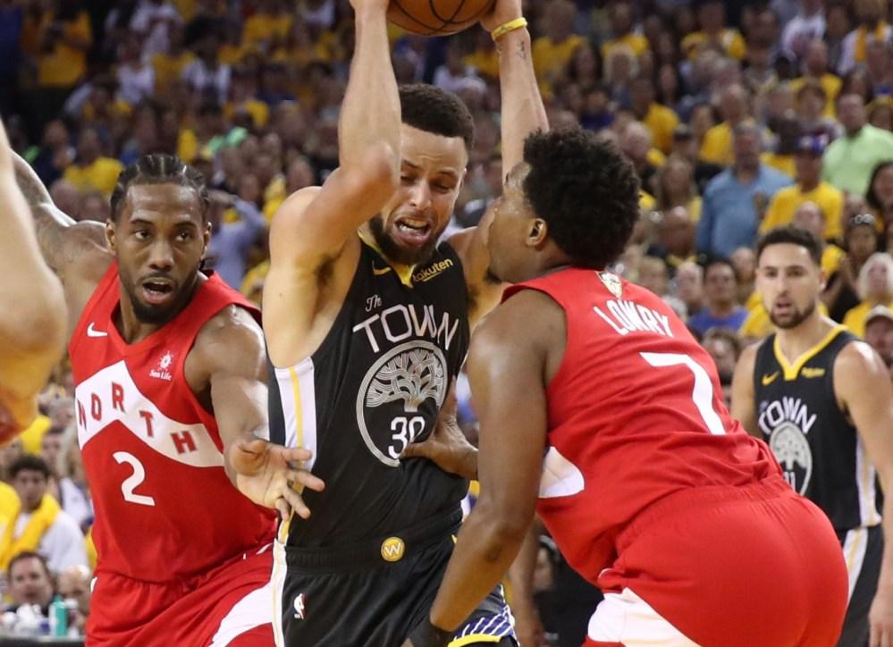 Stephen Curry vs. Toronto Raptors