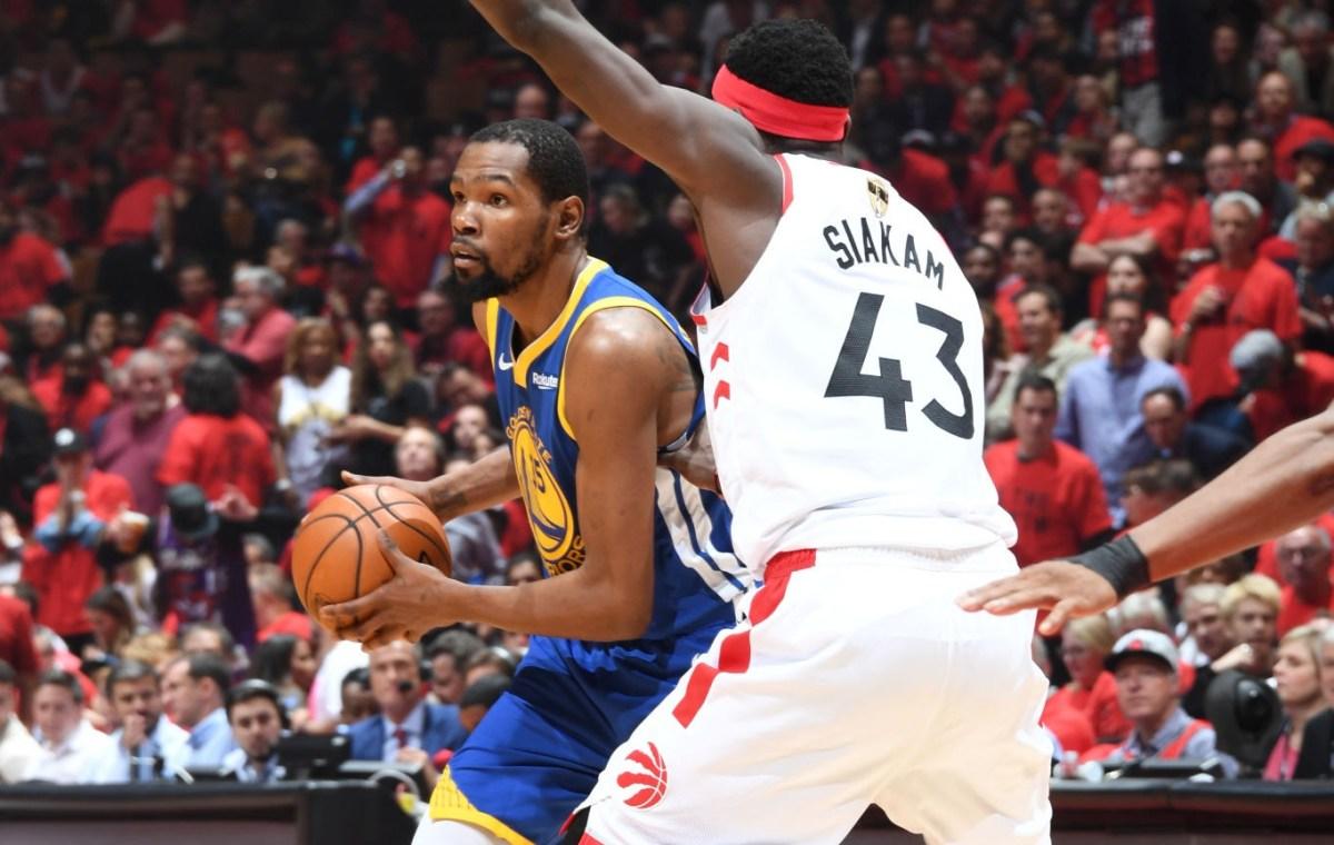Kevin Durant vs. Pascal Siakam