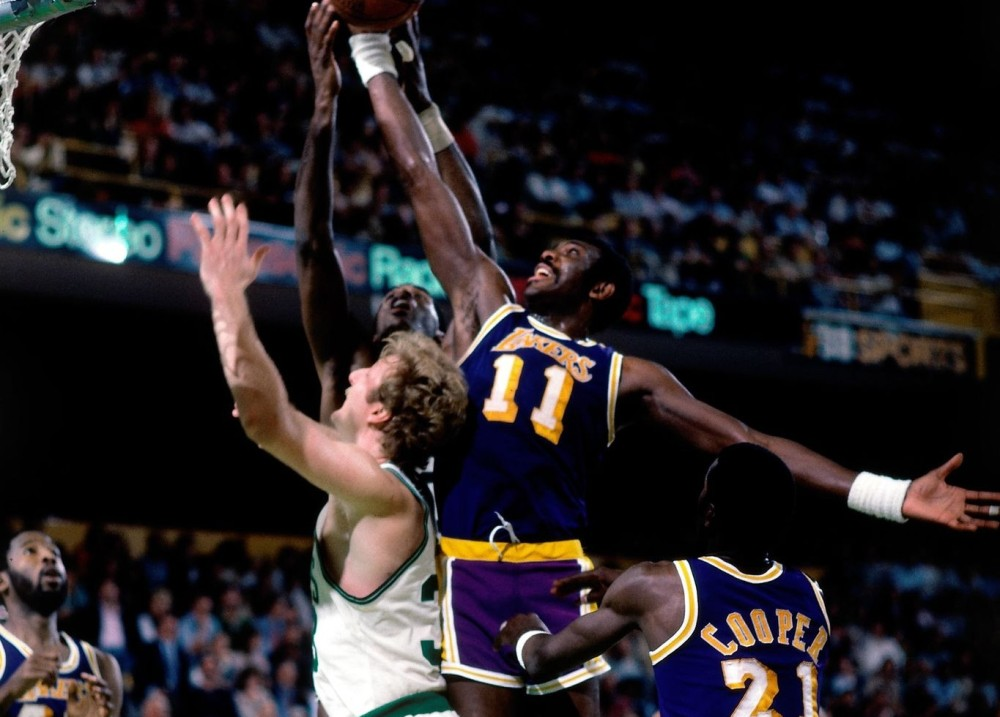 Bob McAdoo vs. Boston Celtics