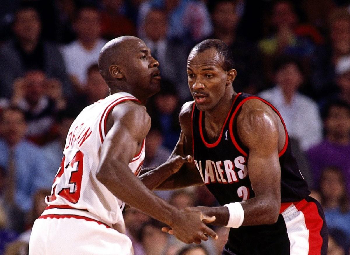 Clyde Drexler vs. Michael Jordan