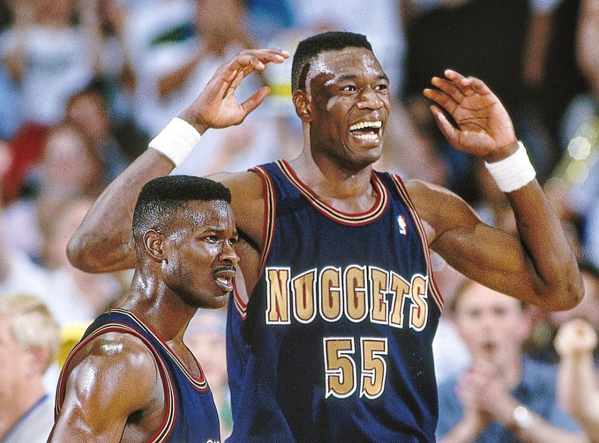 Robert Pack and Dikembe Mutombo, Denver Nuggets