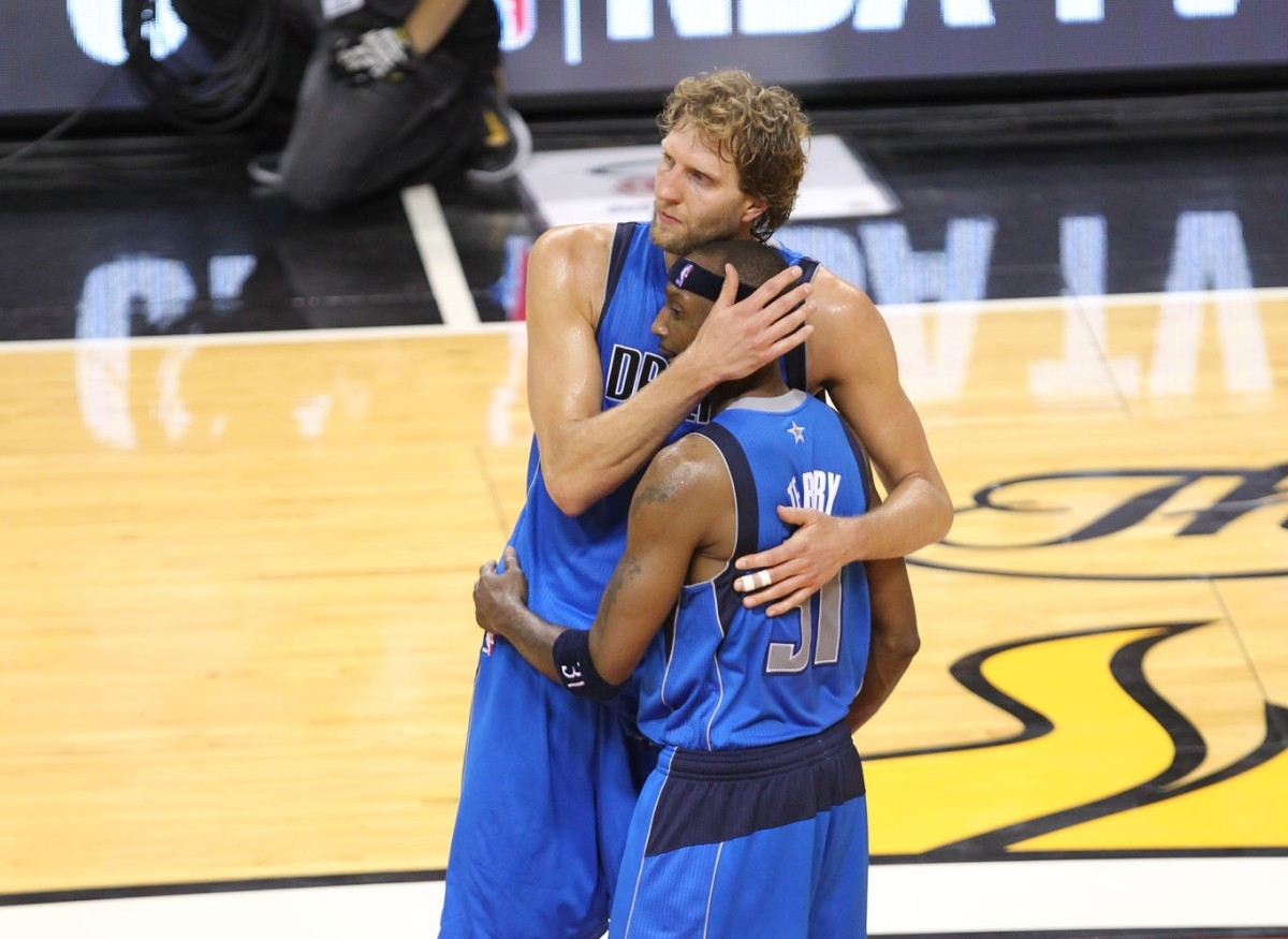 Dirk Nowitzki and Jason Terry, 2011 NBA Finals