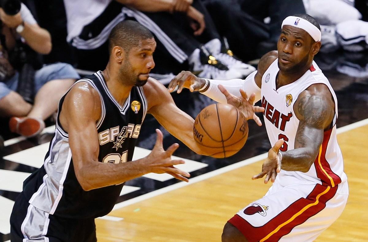 Tim Duncan vs. LeBron James, 2013 NBA Finals