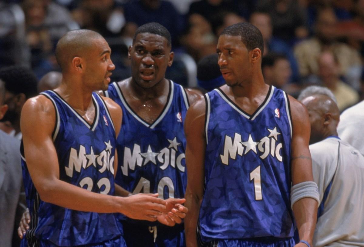 Grant Hill, Shawn Kemp and Tracy McGrady, Orlando Magic