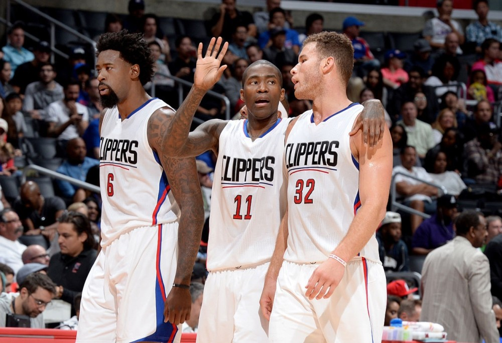DeAndre Jordan, Jamal Crawford and Blake Griffin, Los Angeles Clippers