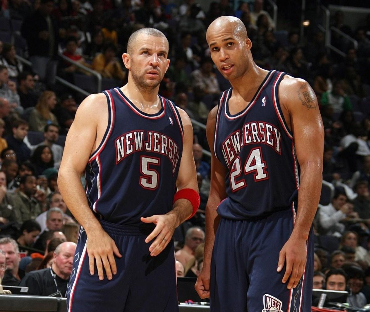 Jason Kidd and Richard Jefferson, New Jersey Nets