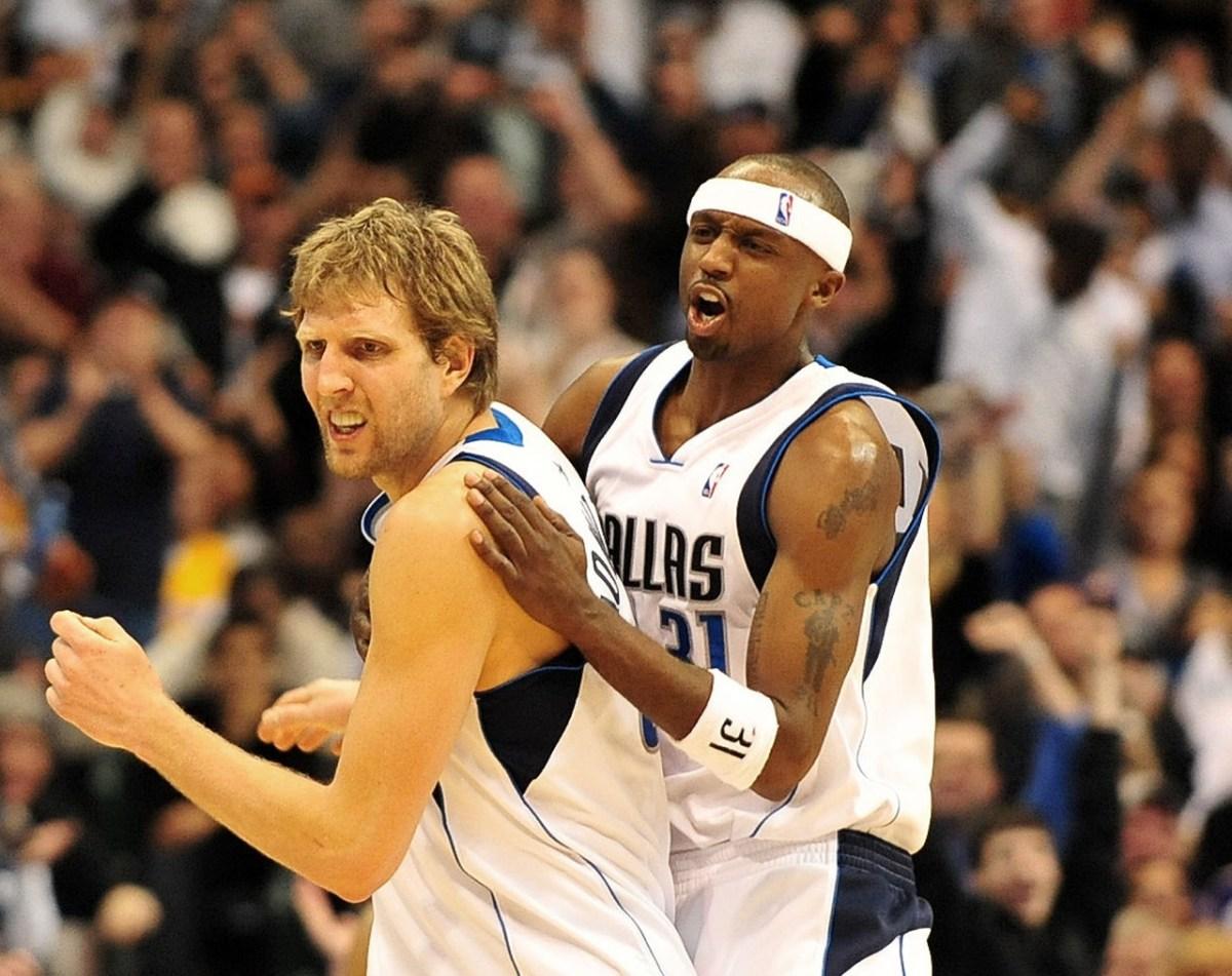 Jason Terry and Dirk Nowitzki, Dallas Mavericks