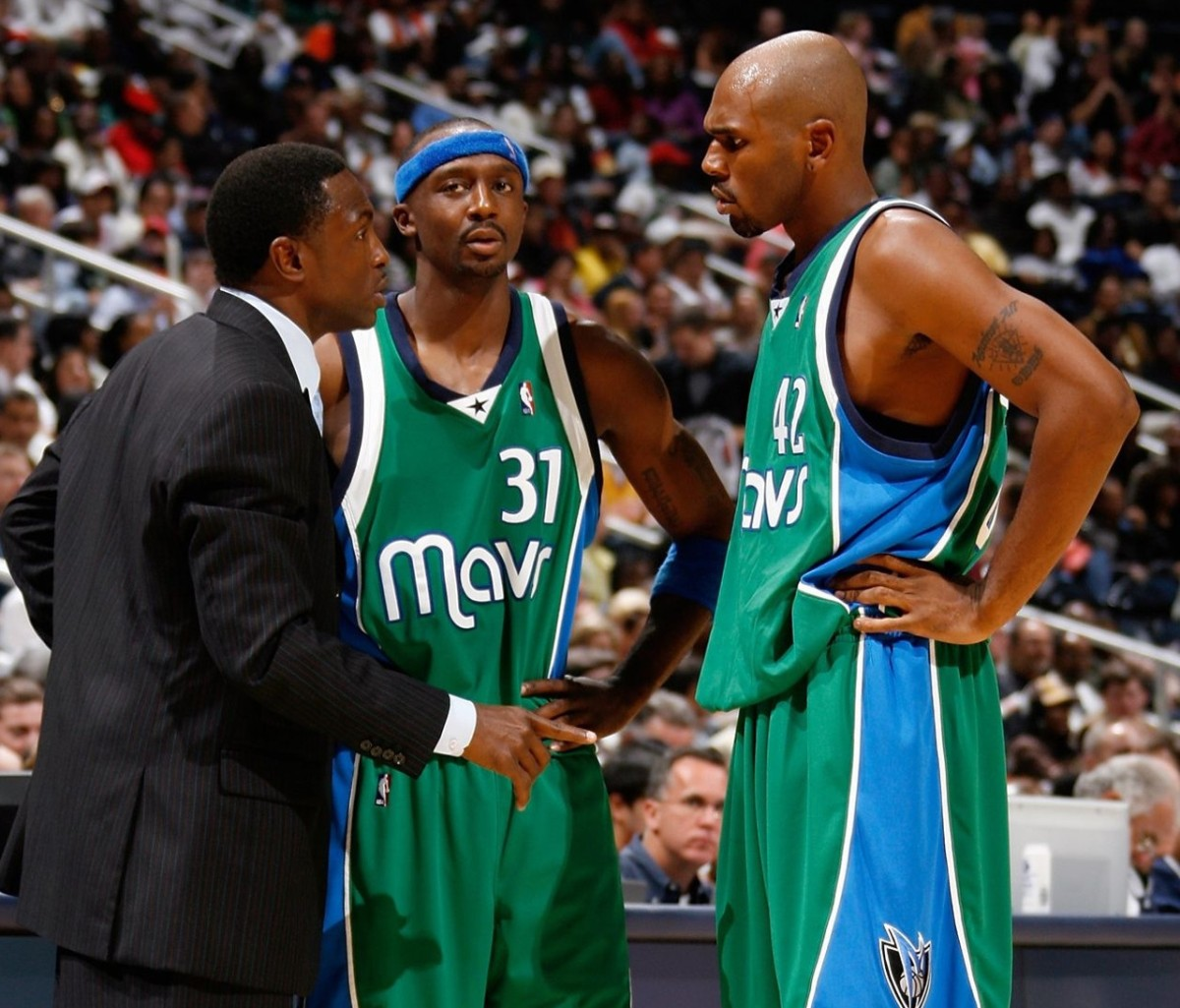 Avery Johnson, Jason Terry and Jerry Stackhouse