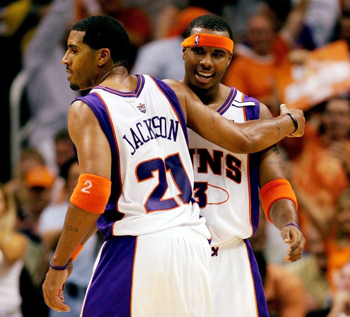 Jim Jackson and Quentin Richardson, Phoenix Suns