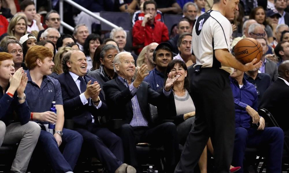 Joe Biden, NBA
