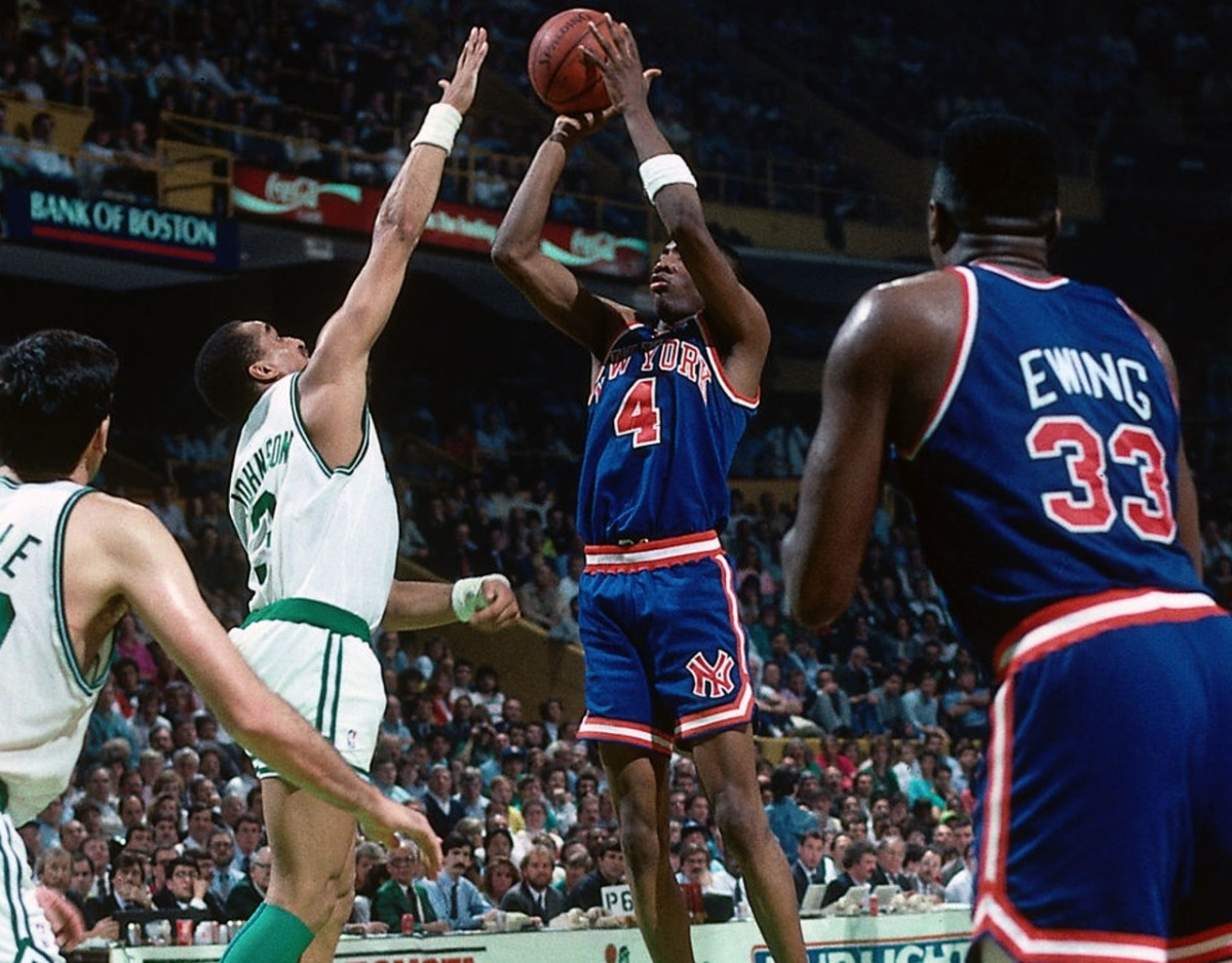 Johnny Newman, New York Knicks