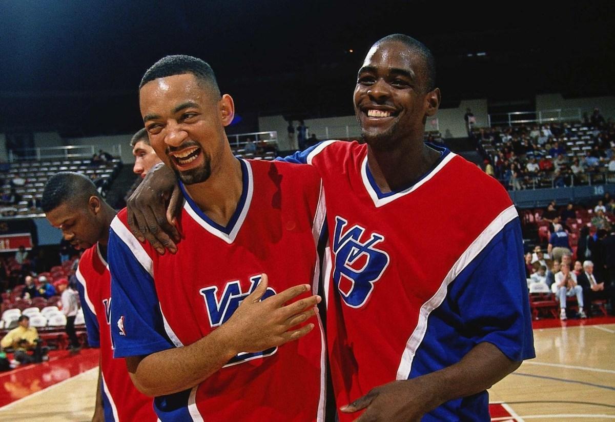 Juwan Howard and Chris Webber, Washington Bullets