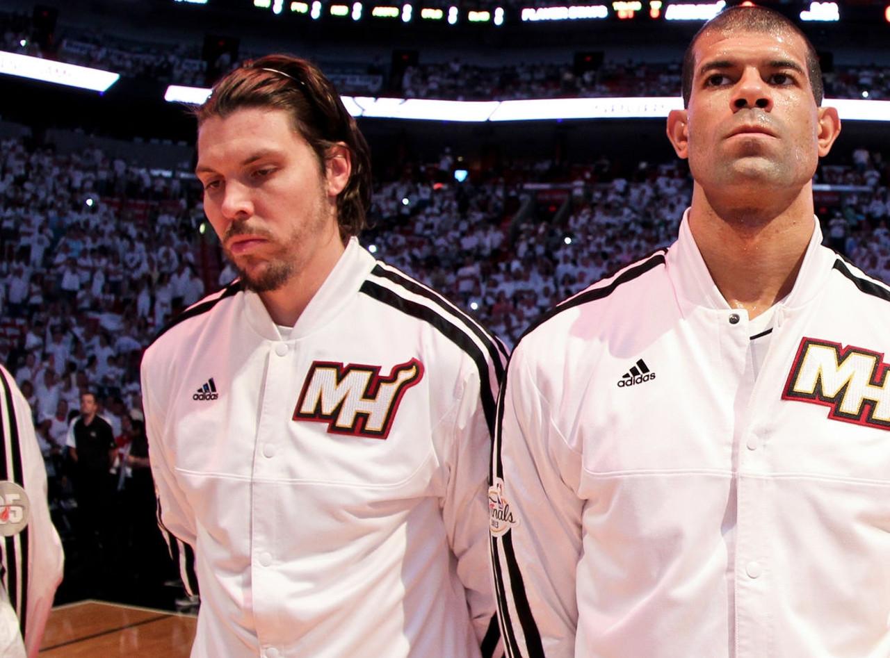 Mike Miller and Shane Battier, Miami Heat