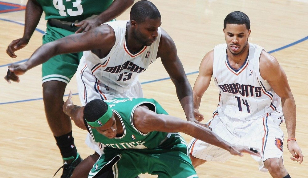 Nazr Mohammed and DJ Augustin, Charlotte Bobcats