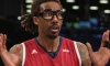Amare Stoudemire surprised after a call