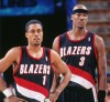 Rod Strickland and Cliff Robinson, Portland Trail Blazers