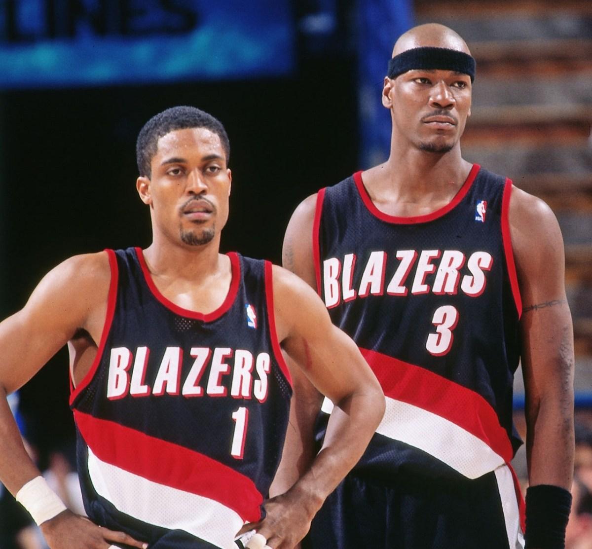 Rod Strickland and Cliff Robinson, Portland Trail Blazers