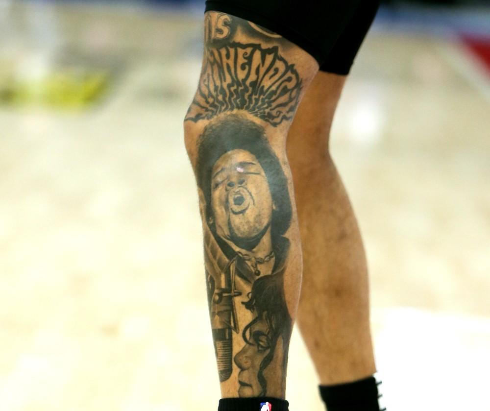 Kelly Oubre tattoos