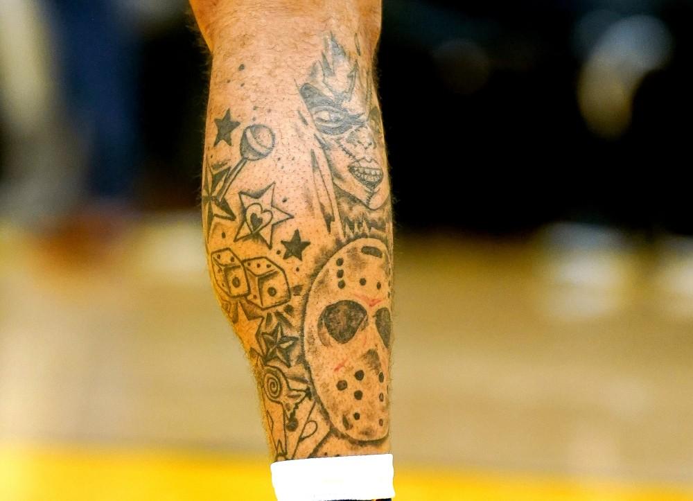 Ky Bowman tattoo