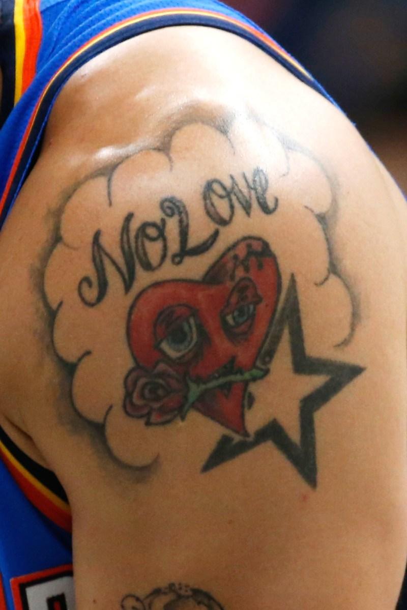 Abdel Nader tattoo