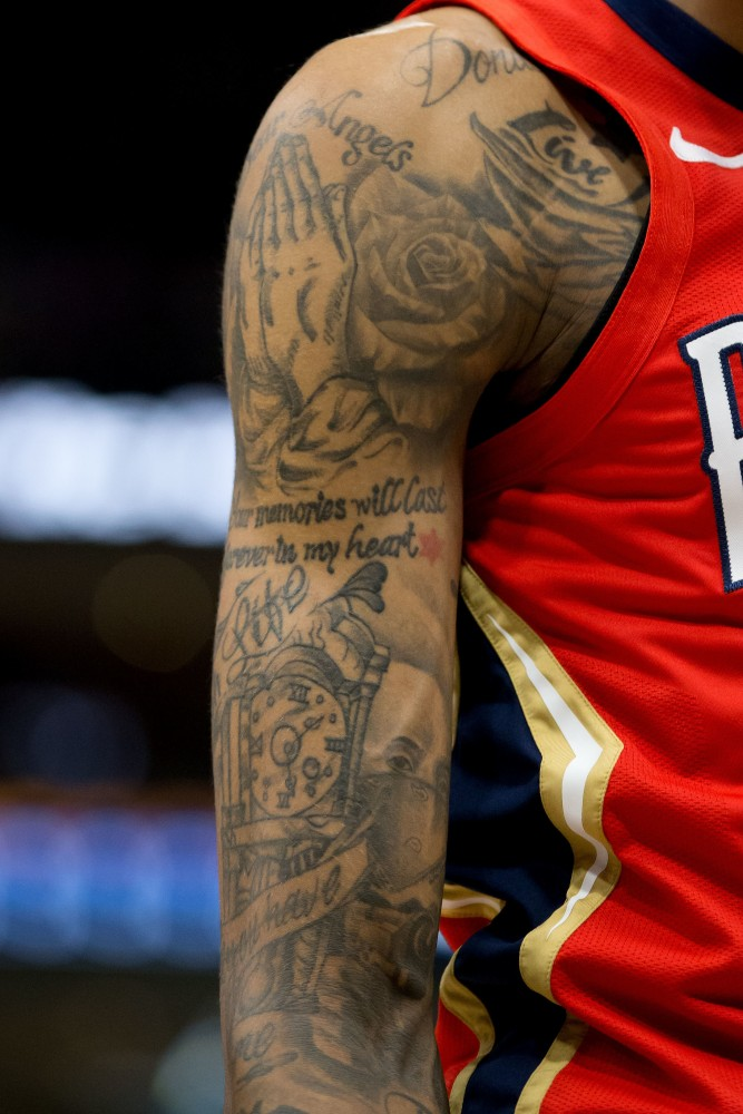Brandon Ingram tattoos