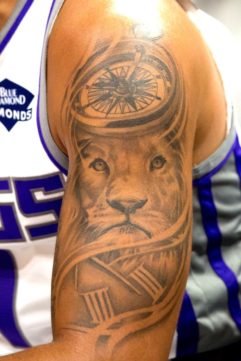 Cory Joseph tattoo