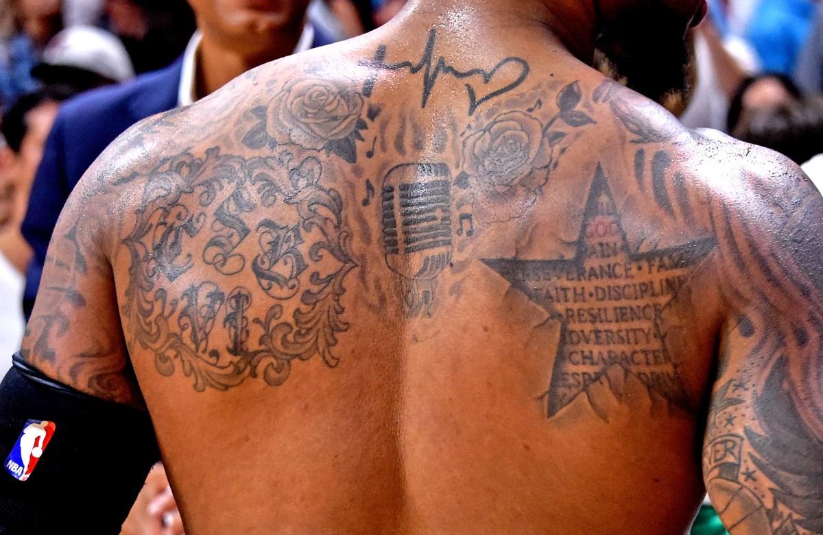 Damian Lillard tattoos