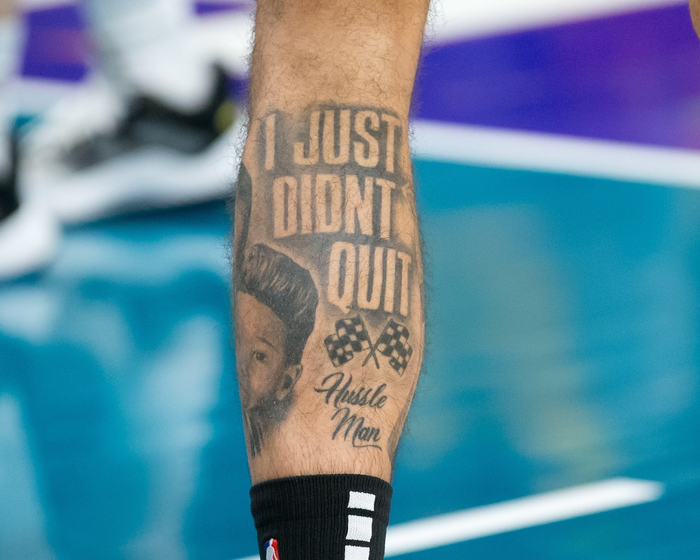 Jayson Tatum tattoo
