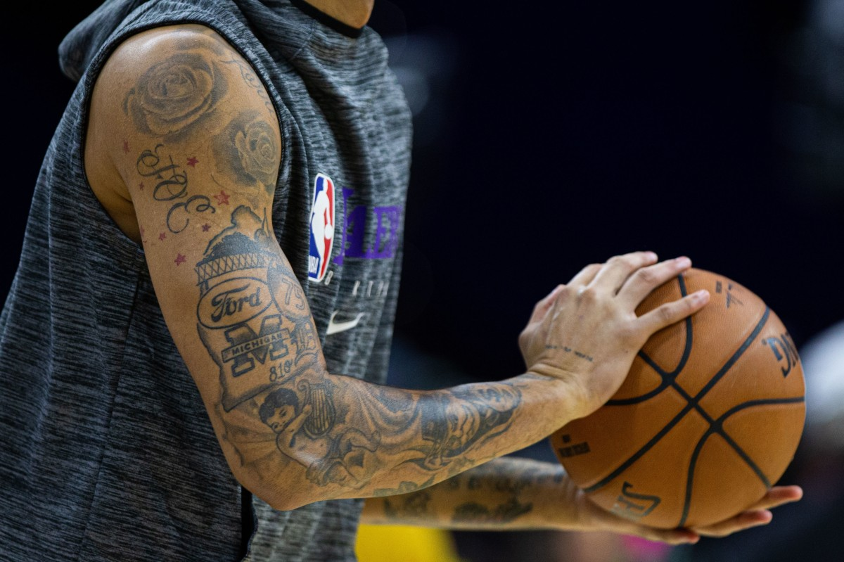 Kyle Kuzma tattoos