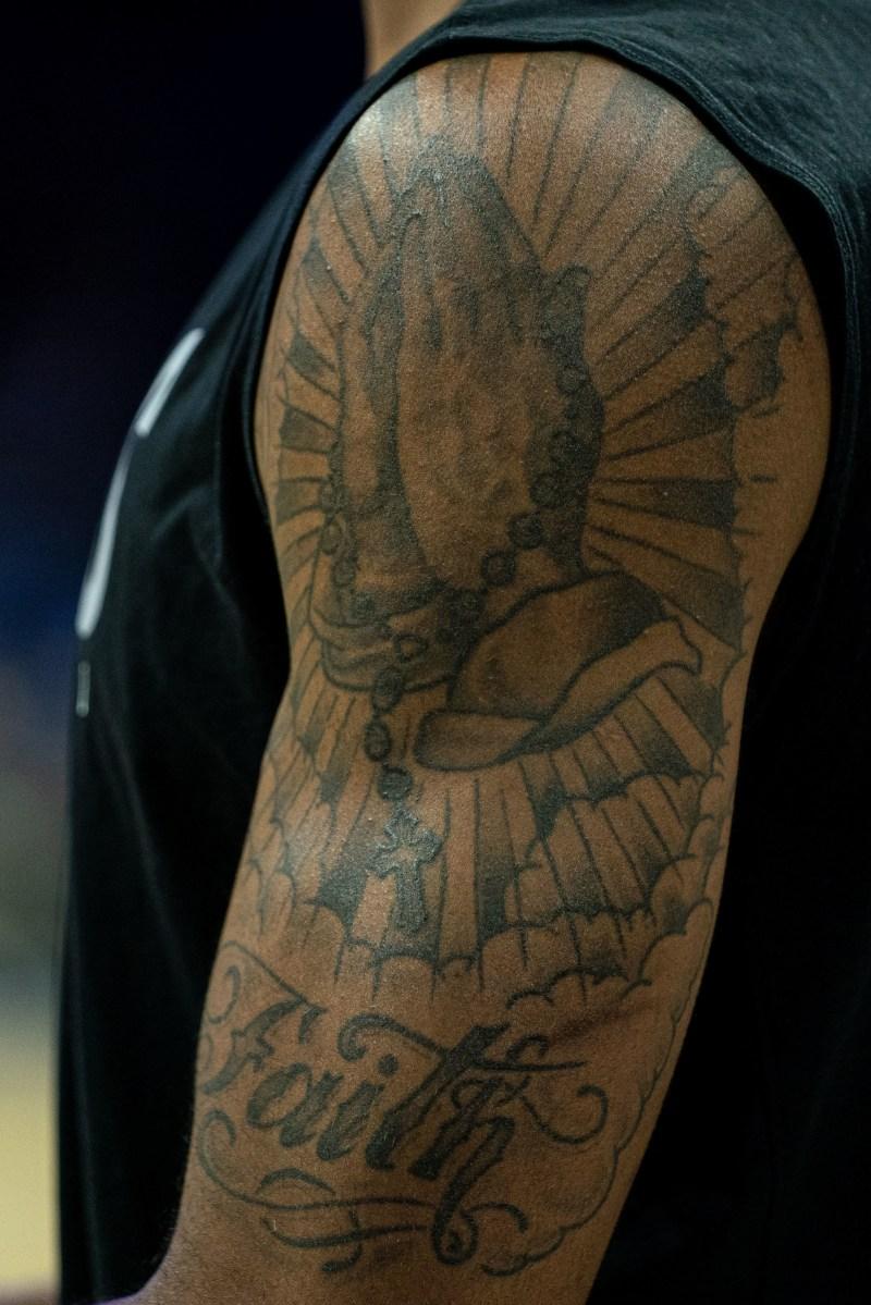 LaMarcus Aldridge tattoo