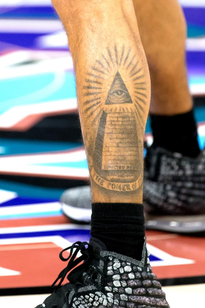 Nigel Williams-Goss tattoo