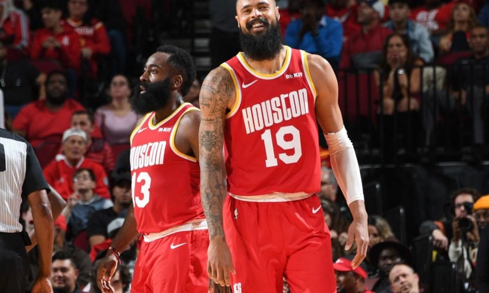Tyson Chandler and James Harden, Houston Rockets