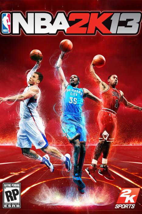 2K13, Blake Griffin, Kevin Durant and Derrick Rose