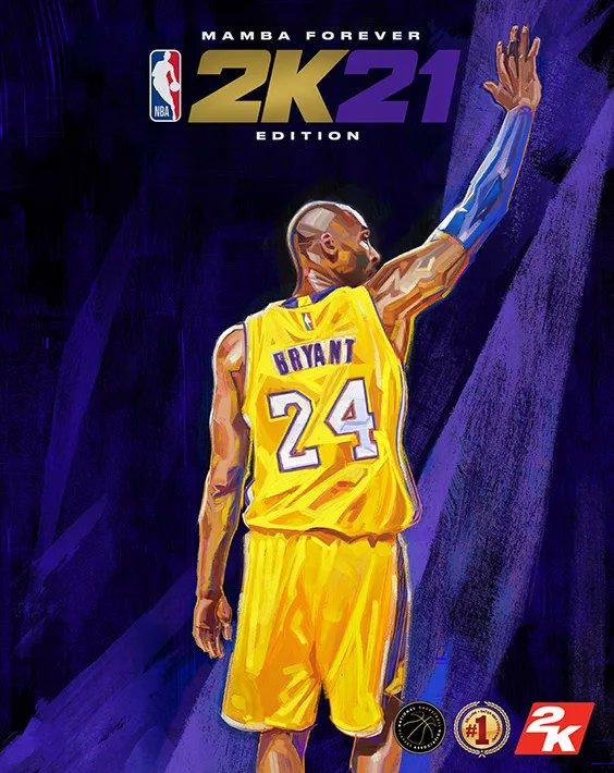 2K21 cover Kobe Bryant