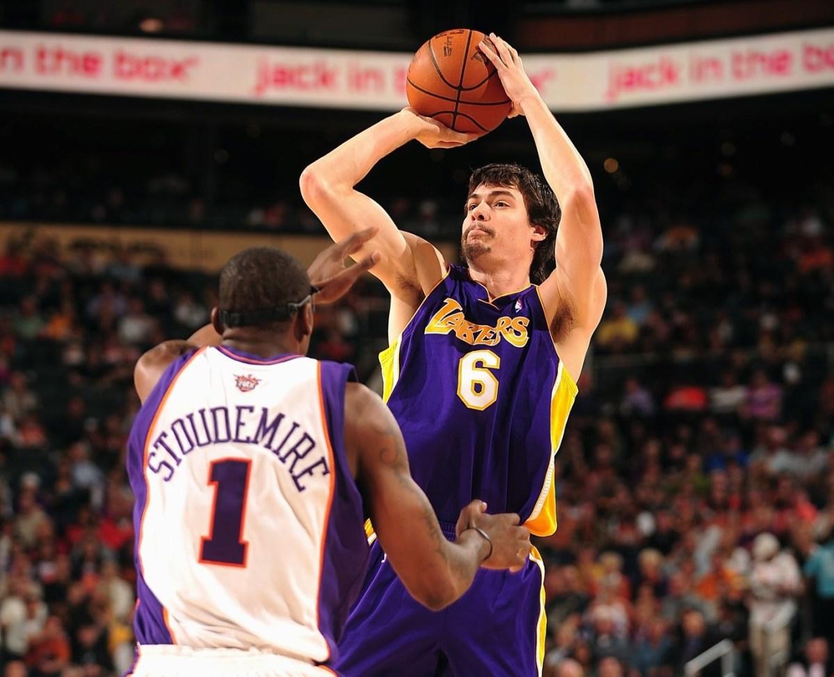 Adam Morrison, Los Angeles Lakers