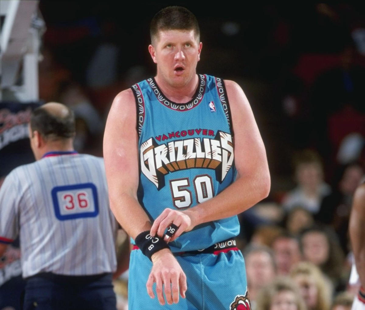Bryant Reeves, Vancouver Grizzlies