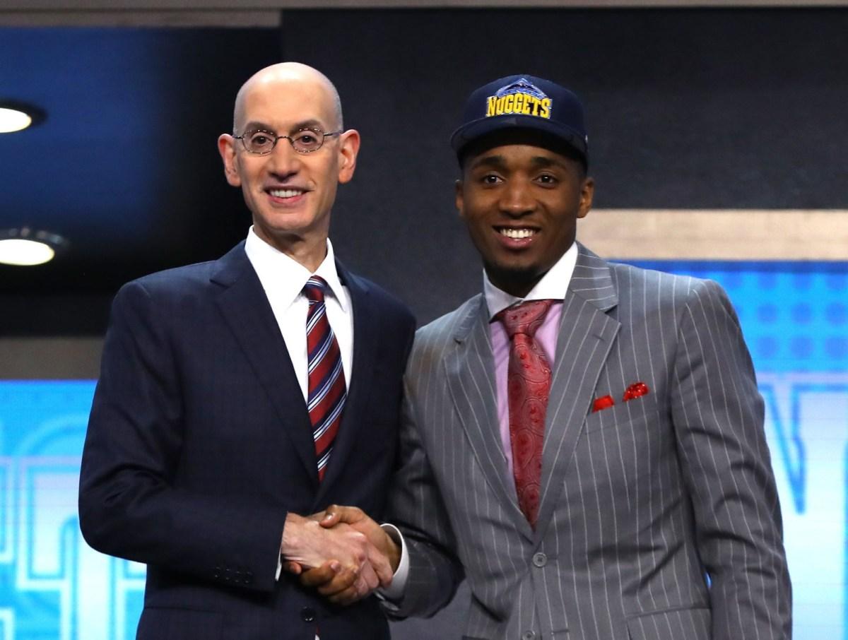 Donovan Mitchell, NBA Draft
