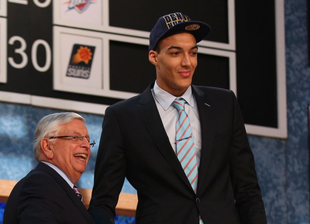 Rudy Gobert, NBA Draft
