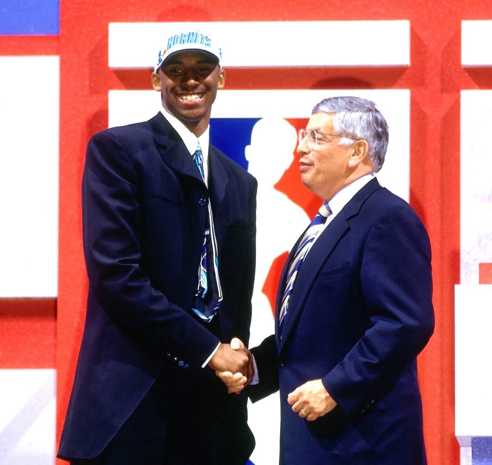 Kobe Bryant, Draft
